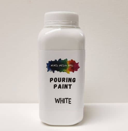 White Acrylic Pouring Paint